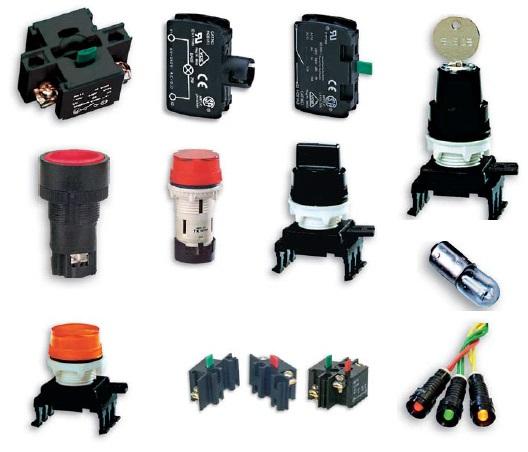 ETISIG (Светосигнальная арматура  кнопки  переключатели)