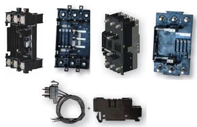 Аксессуары для промышленных автоматических выключателей втычного исполнения