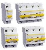 Автоматические выключатели ВА 47-100 характеристика D