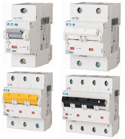 Автоматические выключатели PLHT до 125 A (25kA) (CD)
