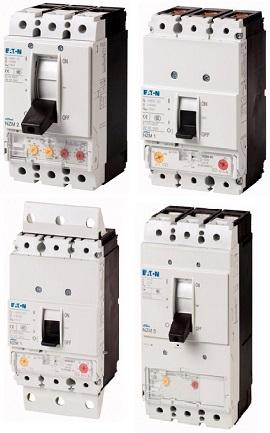 Автоматические выключатели NZM  IZM до 6 300 A (MA)