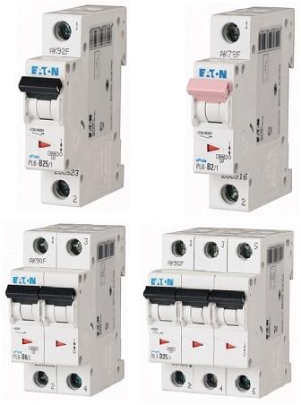 Автоматические выключатели PL 6 до 63 A (6kA) (CM)