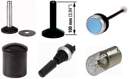 Манипуляторы, основания со стойкой, лампы