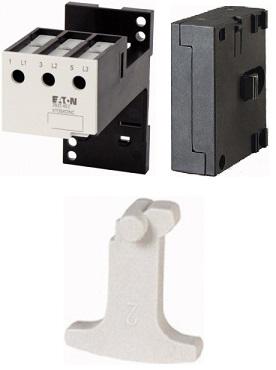 Механическая блокировка, основание для отдельного монтажа реле перегрузки