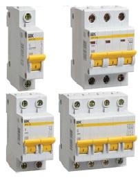 Автоматические выключатели ВА 47-29М Характеристика В