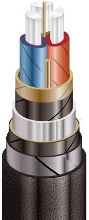 Высоковольтный кабель  ААБл