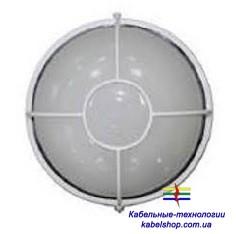 Светильник НПП1104 белый/круг солнце 100Вт IP54  ИЭК