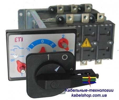 Переключатель нагрузки LA4/D 800A 4P CO