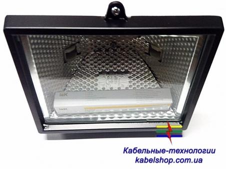 Прожектор ИО 500 галогенный черный IP 54