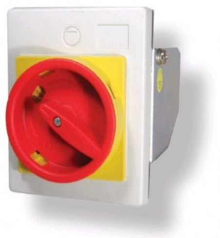 Рукоятка желто-красн. для монтажа непосредственно на дверцу шкафа FMEE55 IP55