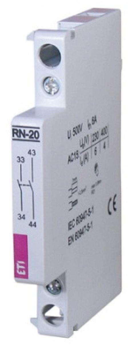 Блок- контакт RN-20 (2NO) (для типа RD)
