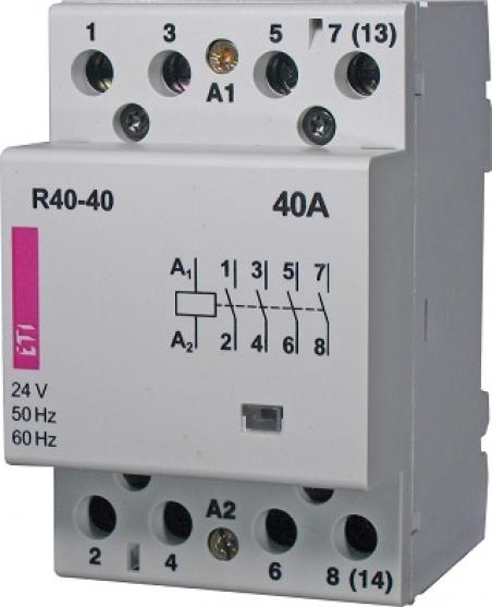 Контактор R 40-04 24V AC 40A (AC1)