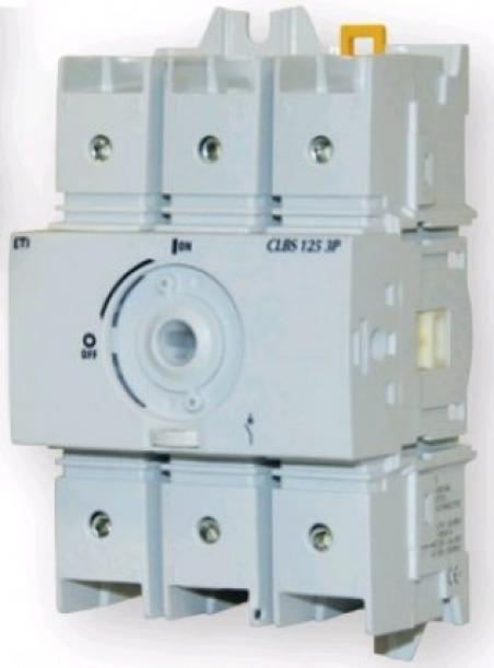 Выключатель нагрузки CLBS 125 3P (без рукоятки, 125A,