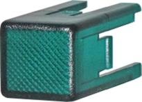Колпачок KT для кнопки с лампой TL (зеленый)