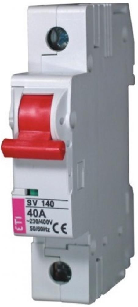 Выключатель нагрузки SV 125  1р 25A