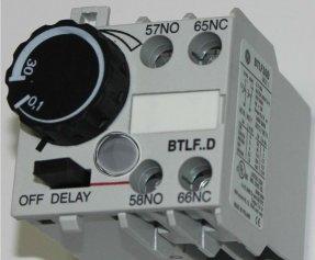 Модуль часовой пневм. с задерж. вкл. (1-60с) BTLF60C