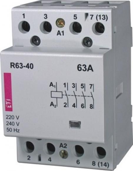 Контактор R 63-40 230V AC 63A (AC1)