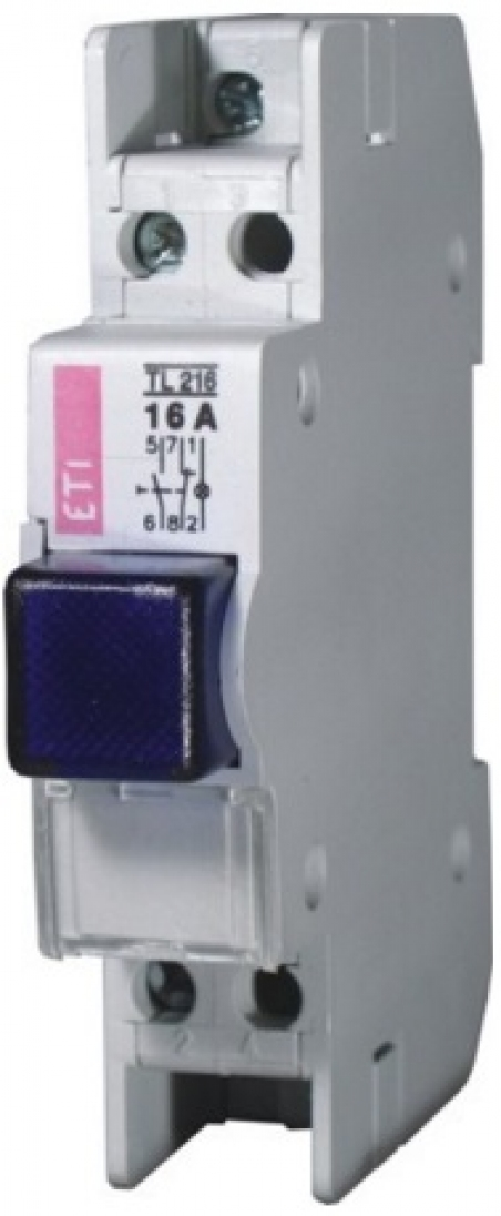 Кнопка с сигнальной лампой TL 216 (белая)