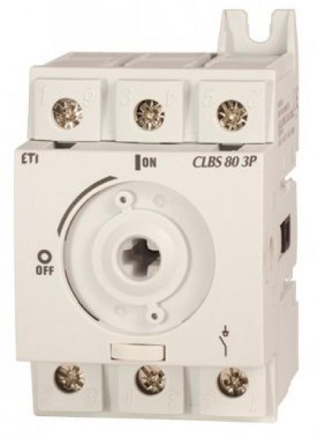 Выключатель нагрузки CLBS 80 3P (без рукоятки, 80A,