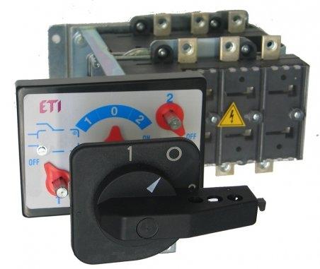 Переключатель нагрузки LA2/D 250A 4P CO