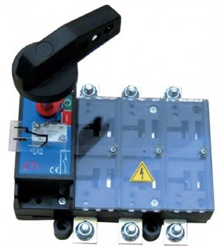 Разъединитель нагрузки с рукояткой на корпусе LA4/R 800 3P