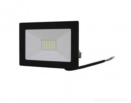 Прожектор LED 30W Ultra Slim 180-260V 2500Lm 6500K IP65 SMD (TNSy, ТНСи)