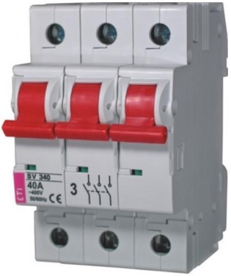 Выключатель нагрузки SV 316  3р 16A