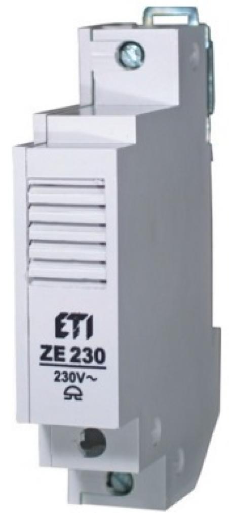 Звонок ZE 8 на DIN-рейку (8V)