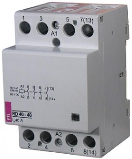 Контактор RD 40-40 (24V AC/DC) (AC1)