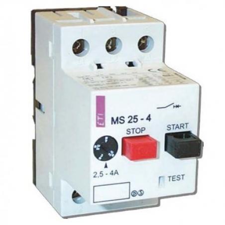 Авт.выключатель защиты двигателя  MS25-6,3