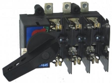 Разъединитель нагрузки под предохранители LAF2/R 125A 3p