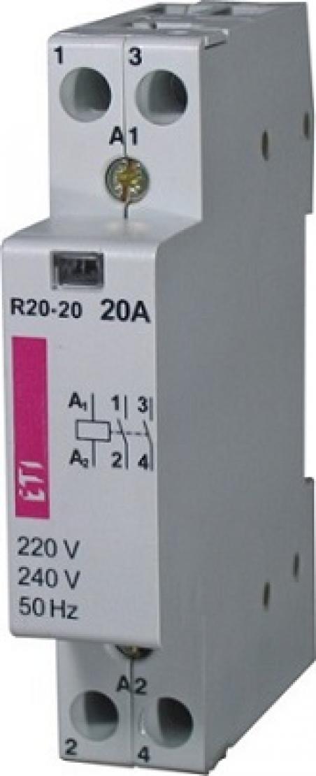 Контактор R 20-02 24V AC 20A (AC1)