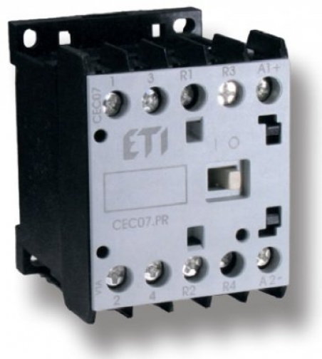 Контактор миниатюрный  CEC 07.01 24V DC (7A; 3kW; AC3)