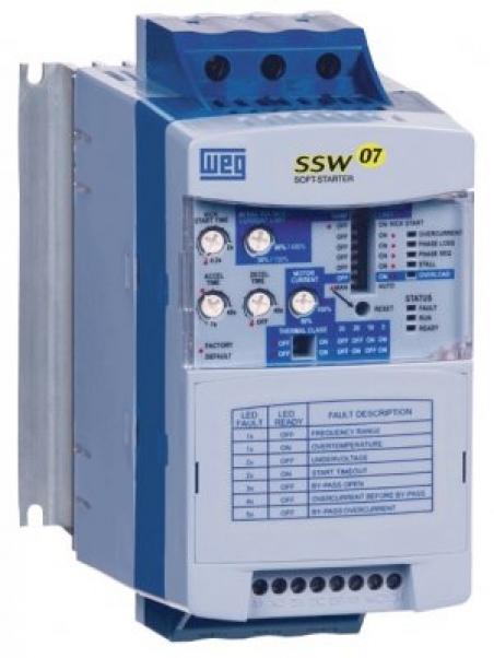Устройство плавного пуска EXSSW07 0312, 380V 312A/160kW
