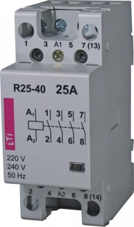 Контактор R 25-22 24V AC 25A (AC1)