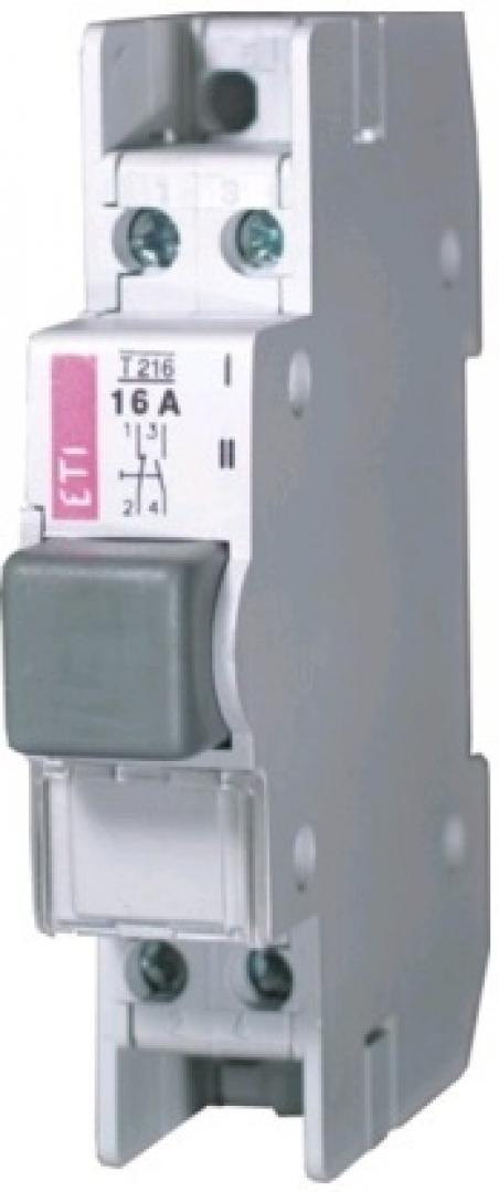 Кнопка (замыкание-размыкание) T 216  2p 16A