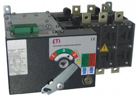 Переключатель нагрузки LA5 MO 2500A 4P CO DUO