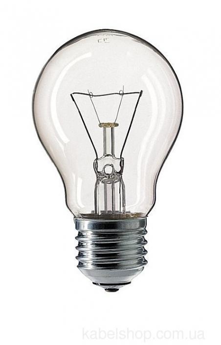 Лампа ЛОН 60Вт. Е27 прозрач.A55 (PHILIPS)
