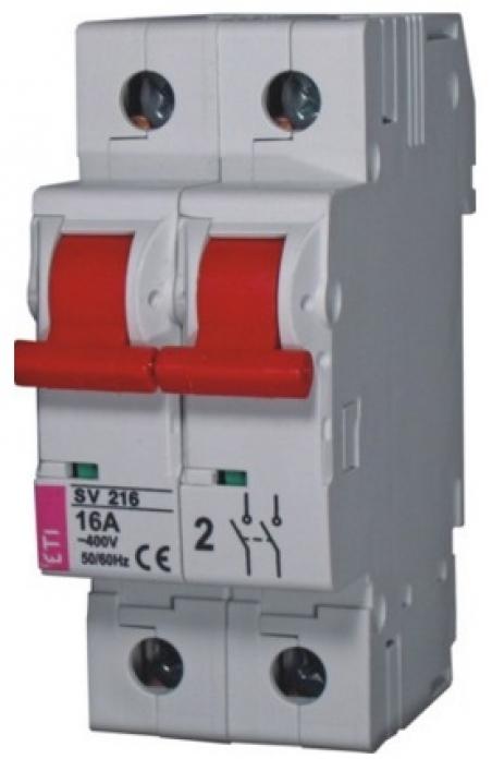 Выключатель нагрузки SV 263  2р 63A