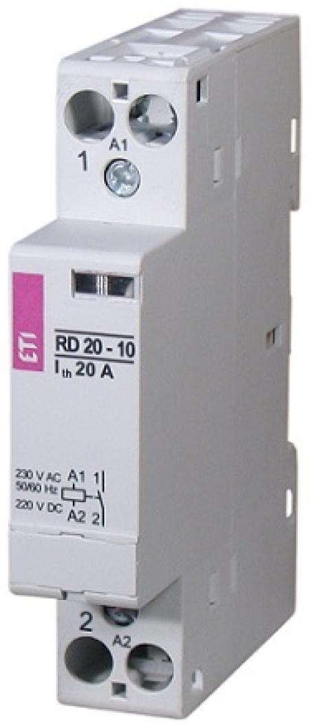 Контактор RD 20-20 (230V AC/DC) (AC1)