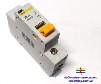 Выключатель нагрузки ВН-32 1Р 63А ИЭК