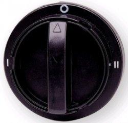 Рукоятка для LAS СО на дверцу шкафа (черная)