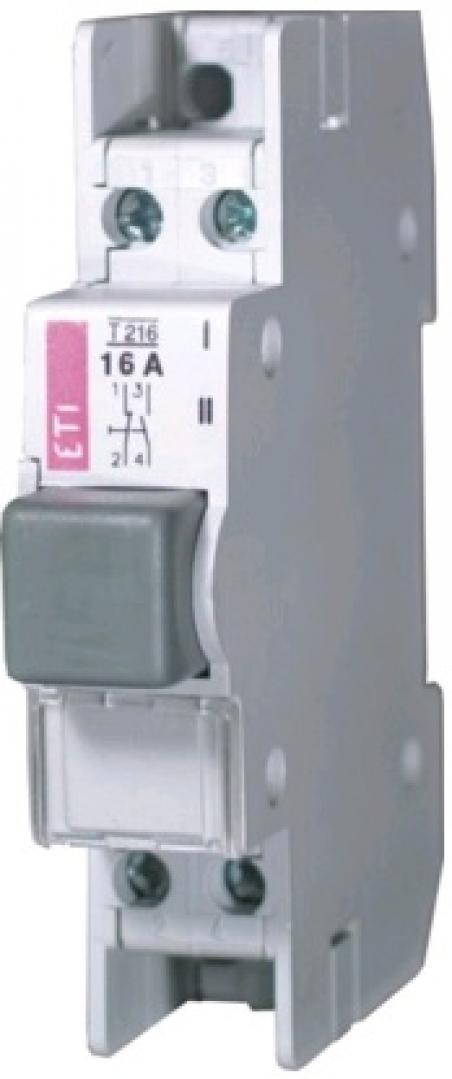 Кнопка (замыкание-размыкание) T 416  4p 16A