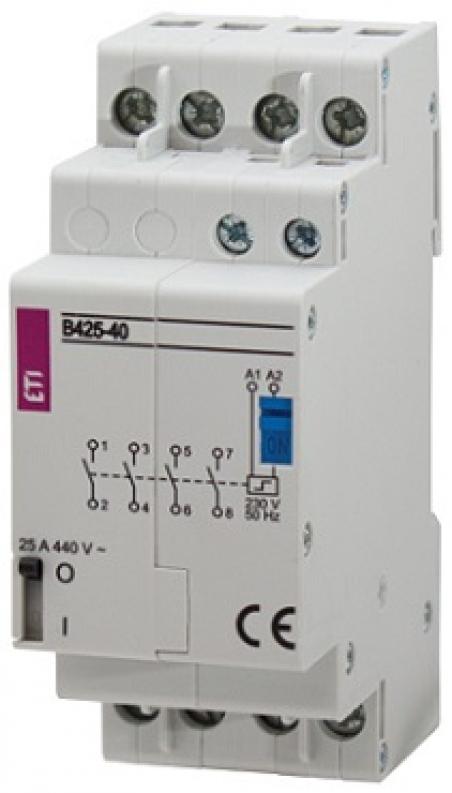 Контактор импульсный RBS 425-2С 230V AC 25A (2перекидн.,AC1)