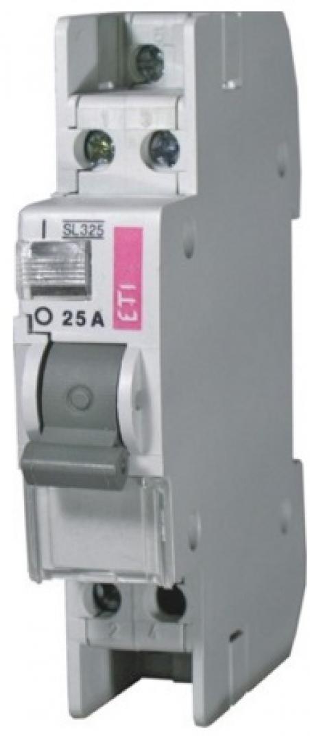 Выключатель с сигн. ламп. SL 225  2р 25А