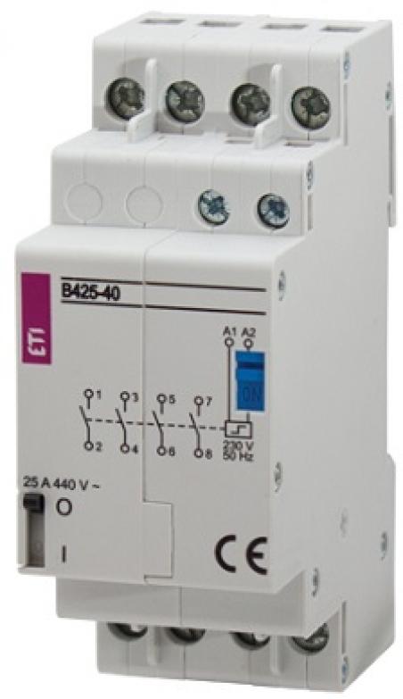 Контактор импульсный RBS 425-40 24V AC 25A (4Н.О.,AC1)