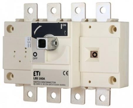 Выключатель нагрузки LBS 4P 250 (