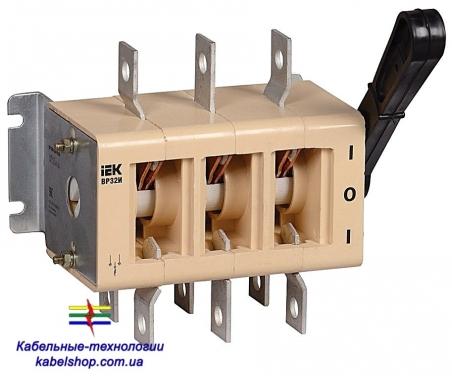 Выключатель-разъединитель ВР32И-35А70220 250А на 2 напр. без ДГК ИЭК