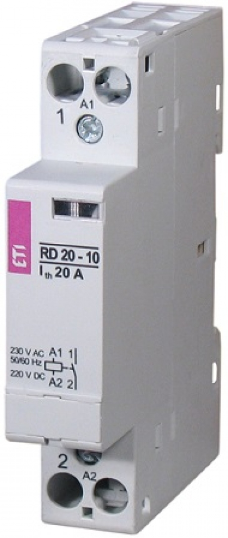 Контактор RD 20-02 (230V AC/DC) (AC1)