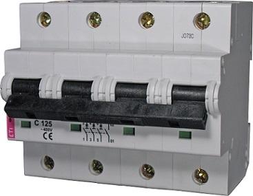 Авт. выключатель ETIMAT 10  3p+N C 100А (20 kA)
